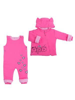 Костюм batik. Цвет: розовый