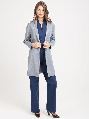 Пальто VITA STRETTA. Цвет: серый
