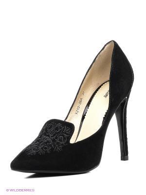 Туфли Lisette. Цвет: черный