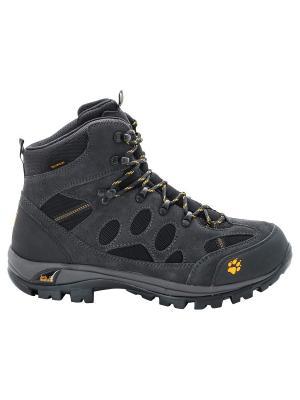 Ботинки ALL TERRAIN 7 TEXAPORE MID M Jack Wolfskin. Цвет: темно-серый