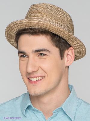 Шляпа Goorin Brothers. Цвет: светло-коричневый