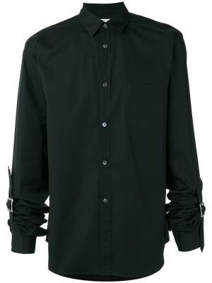Strapped cuffs shirt Comme Des Garçons. Цвет: чёрный