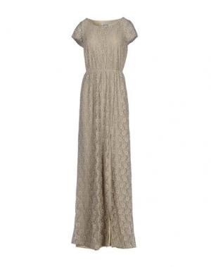 Длинное платье DRY LAKE.. Цвет: песочный