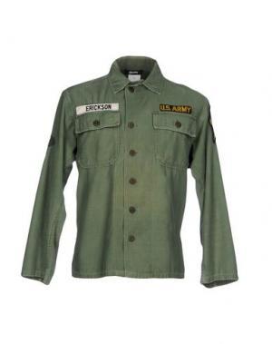 Куртка STILOSOPHY INDUSTRY. Цвет: зеленый-милитари