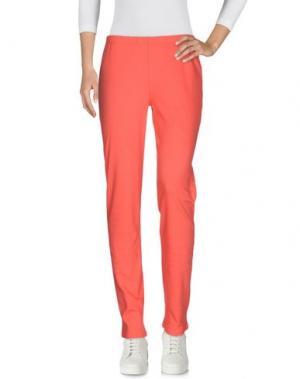 Повседневные брюки BACI RUBATI. Цвет: коралловый