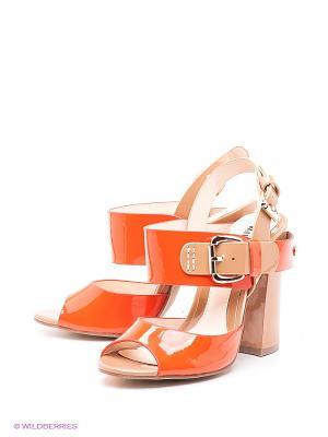 Босоножки MILANA. Цвет: светло-коричневый, оранжевый