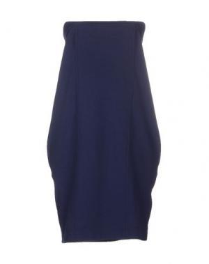Короткое платье MANILA GRACE. Цвет: темно-синий