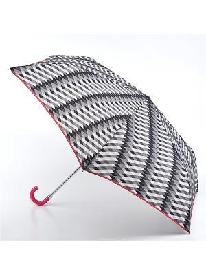 Зонт Механика Fulton. Цвет: серый