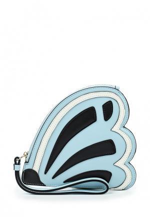 Кошелек Leo Ventoni. Цвет: голубой