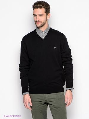 Пуловер Forecast. Цвет: черный
