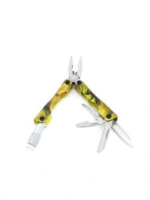 Мультитул 6 инструментов Stinger. Цвет: хаки, серебристый