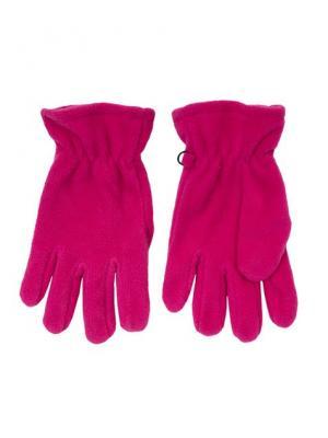 Перчатки трикотажные PlayToday. Цвет: розовый