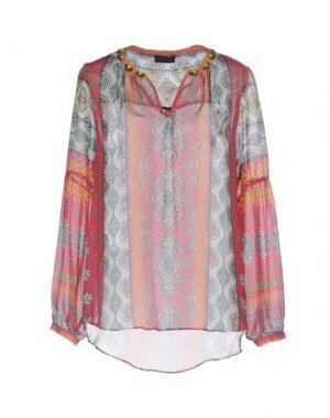 Блузка HALE BOB. Цвет: коралловый