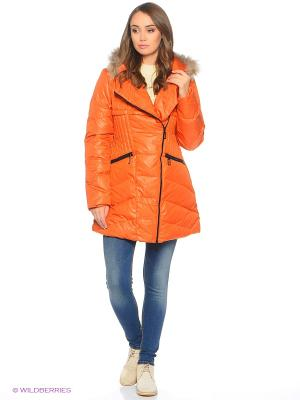 Куртка Colin's. Цвет: оранжевый