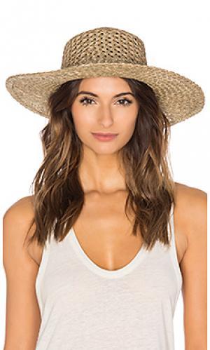 Шляпа с широкими полями the sunnydip Lack of Color. Цвет: коричневый