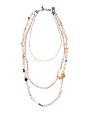 Ожерелье VENESSA ARIZAGA. Цвет: слоновая кость
