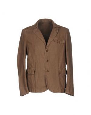 Пиджак MONTEDORO. Цвет: светло-коричневый