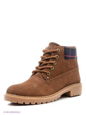 Ботинки XTI 30009/коричневый