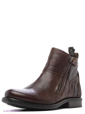 Ботинки Sneaky Steve. Цвет: коричневый, черный