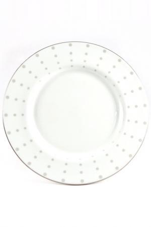 Тарелка 16 см Вертиго Narumi. Цвет: белый