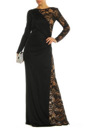 Платье Emilio Pucci. Цвет: черный, бежевый