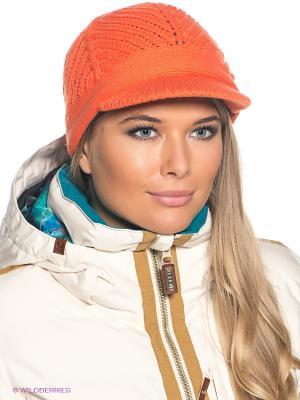 Шапка BRUNOTTI. Цвет: оранжевый