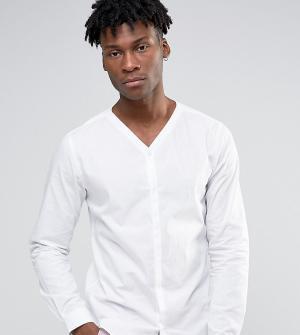 Noak Рубашка со скрытой планкой. Цвет: белый