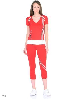Спортивный костюм Bars. Цвет: красный