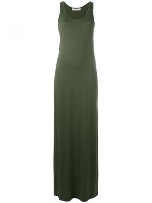 Длинное платье-топ A.F.Vandevorst. Цвет: зелёный
