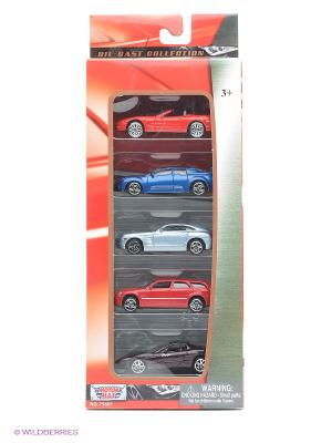 Коллекционные машинки Motormax Набор A. Цвет: красный