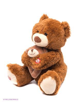 Мама и малыш Медведица. Fluffy Family. Цвет: коричневый