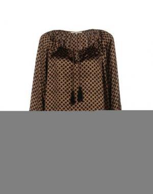 Блузка GERARD DAREL. Цвет: голубиный серый