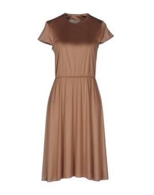 Платье до колена ..,MERCI. Цвет: светло-коричневый