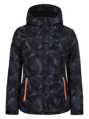 Куртка Icepeak. Цвет: черный, серый