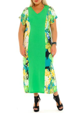 Платье Svesta. Цвет: салатовый