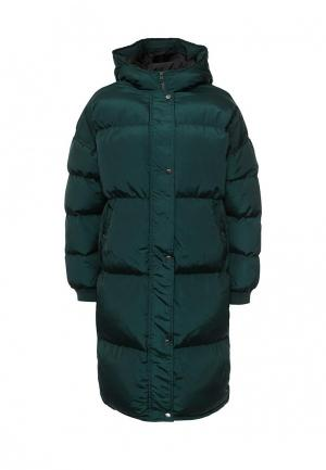 Куртка утепленная Noisy May. Цвет: зеленый