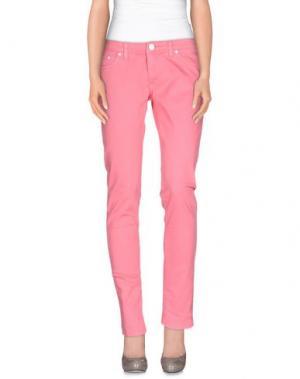 Повседневные брюки DON WASH. Цвет: светло-фиолетовый