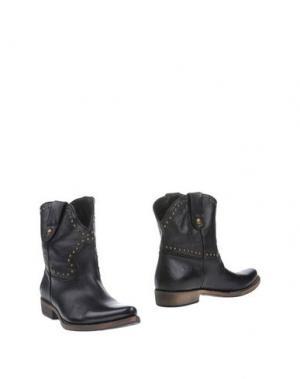 Полусапоги и высокие ботинки PRIMABASE. Цвет: черный