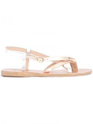 Сандалии Semele Ancient Greek Sandals. Цвет: телесный