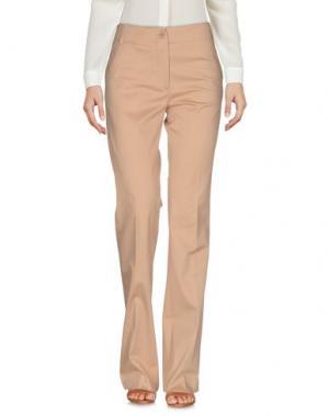 Повседневные брюки MAURO GRIFONI. Цвет: песочный