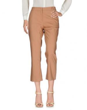 Повседневные брюки F.IT. Цвет: коричневый