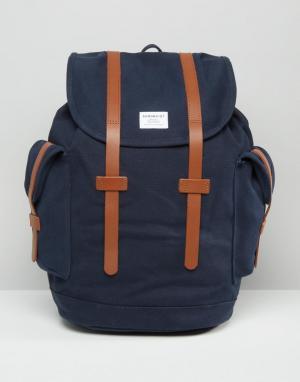 Sandqvist Синий рюкзак Vidar. Цвет: синий