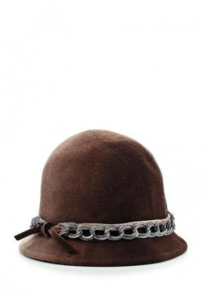Шляпа Venera. Цвет: коричневый