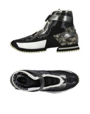 Высокие кеды и кроссовки ALBERTO PREMI. Цвет: черный