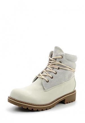 Ботинки Super Mode. Цвет: серый