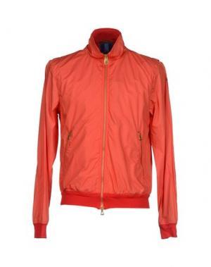 Куртка HISTORIC RESEARCH. Цвет: коралловый