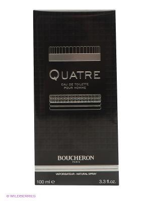 Туалетная вода Quatre, 100 мл BOUCHERON. Цвет: черный