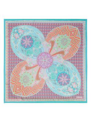Платок Eleganzza. Цвет: бирюзовый, коралловый, лиловый, салатовый