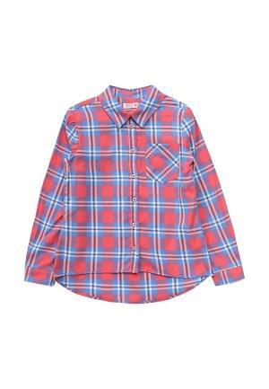 Рубашка Sela. Цвет: красный