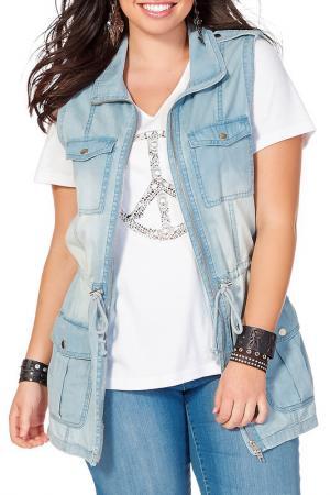 Vest SHEEGO. Цвет: light blue